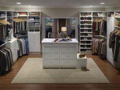 32 Hermosos y lujosos diseños en cuartos del armario   Decorando.info