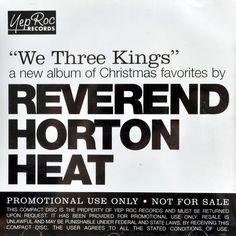 Reverend Horton Heat We Three Kings Christmas Faves Promo Cd Psychobilly 2005 #RockabillyPsychobilly