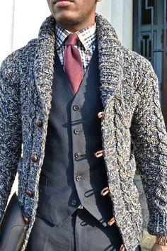Men's Casual V-Neck #Cardigan | Cardigans For Men | Pinterest ...