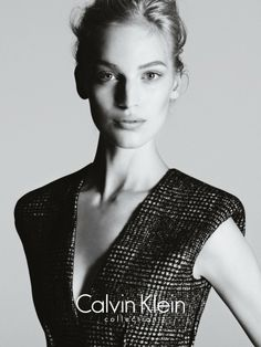 9ab35cbd2f26 Vanessa Axente Stars in Calvin Klein s Fall 2013 Campaign by Mert   Marcus