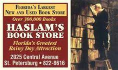 Haslam's bookstore St. Petersburg, Florida