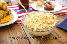 """If you've tried KFC's famous cole slaw, you must give this easy entertaining recipe a go. It's just like the recipe says.the Simple Cole Slaw recipe is an ideal speedy side dish that will have all of your guests raving about your """"cooking"""". Pasta Salad With Tortellini, Greek Salad Pasta, Soup And Salad, The Slow Roasted Italian, Copycat Recipes, Yummy Recipes, Yummy Food, Yummy Yummy, Salads"""
