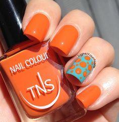 manicure -                                                      TNS Accent Manicure: Life in Colour   That's Amore dotticure accent