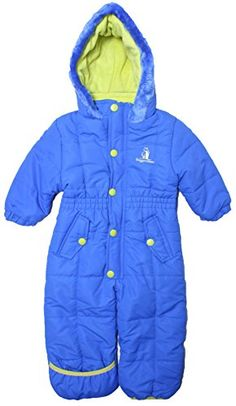628dd259e Rugged Bear - Baby Boys Contrast Quilted Winter Snowpram/ Royal3 Rugged Bear  http:/