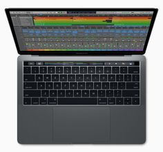 Apple MacBook Pro Laptop with Touch Bar dual-core Intel Core Retina Display) Space Gray Apple Macbook Pro, Macbook Pro 13, Latest Macbook Pro, Macbook Pro Touch Bar, Apple Laptop, New Macbook, Latest Laptop, Macbook Skin, Apple Inc