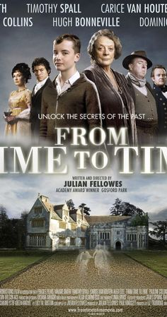 A haunting ghost story spanning two worlds, two centuries apart. When 13 year old Tolly finds he can mysteriously travel between the two, he begins an adventure that unlocks family secrets laid buried for generations. With Maggie Smith Period Drama Movies, Period Dramas, Tv Series To Watch, Movies To Watch, Netflix Movies, Movies Online, Watch Netflix, Love Movie, Movie Tv
