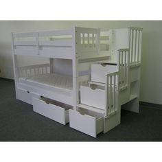 twin, stairs, stairway, kid bedroom, bunk beds, drawers, kid room, bed storage, girl rooms