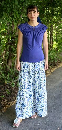 Skirt fabric inspiration, adapt sewing pattern by adding a gathered layer at knee