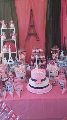 Paris candy bar