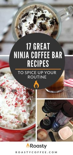 From the more classic mocha latte to peppermint mochas that give you those holiday feels, check out our list of 17 great Ninja Coffee Bar recipes to spice up your routine. Ninja Coffee Maker, Ninja Coffee Bar Recipes, Coffee Drink Recipes, Ninja Recipes, Coffee Drinks, Smoothies Coffee, Coffee Tables, Coffee Tray, Coffee Mugs