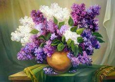 cuadros de flores al óleo modernos - Bing Imágenes