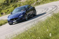 #Maserati #Ghibli #Blau #Blue #Front