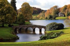 Stourhead, Wiltshire, England. A must see for me. Entirely master planned and planted. Historic replicas thoughtfully placed within the site.