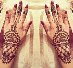 Bridal Mehendi Designs - The Crafted Cuffs