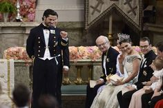 June 13, 2015 .. Royal wedding of Prince Carl Philip of Sweden and Princess Sofia of Sweden