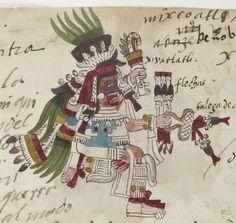 Codex Telleriano-Remensis Type : manuscrit Format : Manuscrit figuratif. - Papier européen. - , in-folio. - 50 feuillets. - 21 x 30 cm. - Relié parchemin Droits : domaine public Identifiant : ark:/12148/btv1b8458267s