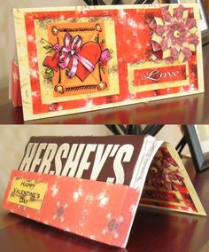 Candy Bar Card --Great Idea for Christmas or any holiday for coworkers!