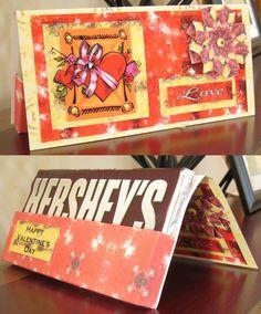 Cartão Candy Bar
