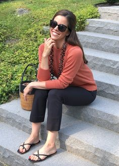 Fashion Friday (on Wednesday!): Everlane August Looks Casual Clothes, Casual Outfits, Button Front Skirt, Elements Of Style, Long Torso, Fall Wardrobe, Style Blog, Wrap Style, Summer Collection