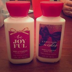 Shea and vitamin E body lotion Brand new never opened 3fl oz. a thousand wishes and be joyful. Bath and body works Other