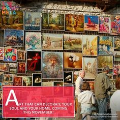 Art can captivate you like no other, experience it at The Great Mela this November! #lifeisamela and#itallhappensinbetween