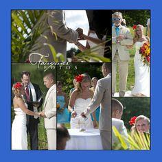 Fauquier Fotos | Warrenton, VA | Posts, beach wedding, sand, ceremony, bride and groom, photos
