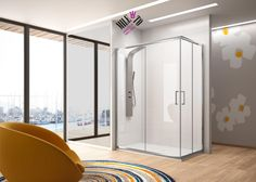 Comprar mampara de ducha MOD. BL 105 económica mamparas baño y ducha en mamparas-ofertas.com
