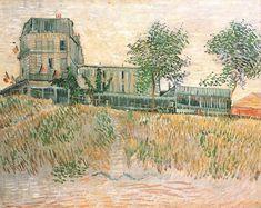 1887 Vincent van Gogh: The Paintings (The Restaurant de la Sirène at Asnières)