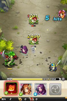 陌陌弹珠 每个角色都是一个弹珠,由玩家发力,利用和怪物的物理碰撞来表现战斗过程的创新玩法。弹珠不一定都是反弹也有不产生反弹而是贯穿的。弹珠和弹珠之间碰撞会触发角色技能