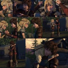 RTTE. Hiccstrid. :D Hiccup giving Astrid her betrothal gift.  I love how he says that he didn't need a gift but Astrid just being there with him was enough
