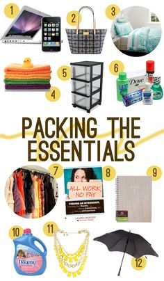 Packing for My Summer Internship (with a deal from Residence Hall Linens!) What to pack for living in New York for an Internship this summer.