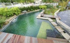 Natural living pool design idea