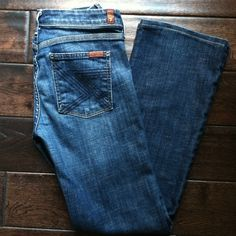 Seven for all Mankind jeans These have been hemmed to a 29 inseam (I am 5'). Excellent condition. Worn less than 10 times. Seven7 Jeans