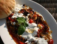 Banjan Bourani - lilek s jogurtovou mátovou omáčkou