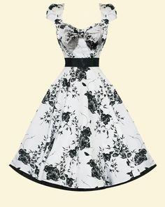 50's inspired dress! So pretty :)