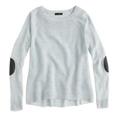Elbow-patch sweater | J. Crew