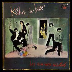 """""""Las canciones malditas"""", único LP de Kaka de Luxe editado en 1983 con el grupo ya disuelto."""