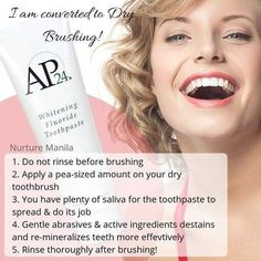 Safe for kids * Dry Brushing * Lightens the teeth Whitening Fluoride Toothpaste, Teeth Whitening, Healthy Teeth, Dry Brushing, Cavities, Active Ingredient, Deodorant, How To Apply, Kili