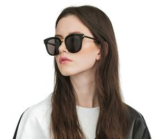 8428f856cb9af GENTLE MONSTER - ABSENTE ONE 01 Cat Eye Sunglasses