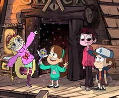 Star Vs. The Forces of Evil & Gravity Falls Crossover- it'd be awesome for this to happen!