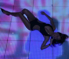 Prolight+Sound 2007: photo shoot on Dreampanel Floor.