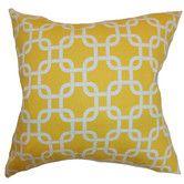 Found it at Wayfair - Qishn Geometric Cotton Throw Pillow