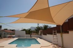 Shade Sails for Your Outdoor Space - http://www.brilliantshadesails.com.au/ - A shade sail can offer you years of reliability and protection from the sun's harmful rays, where you need it most. Bearing a close resemblance to the sails of ships from years gone by, these sails can be used in your backyard or in a commercial setting to offer functional sun protection and also serve as a beautiful work of art.