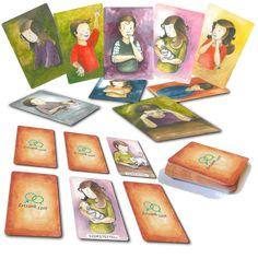 Az Érzelmi kártyákkal az érzelmeket hozhatod be a mindennapokba. Segít a gyerekeknek, hogy megtanulják beazonosítani, hogyan is éreznek, és használhatjátok egyfajta hangulat-érzelem azonosításra. Ha módosított memoryként használjátok, akkor minden alkalommal, mikor valamelyik játékos megtalál egy párt, mindenki a körben mesél egy történetet, amikor ő úgy érezte magát, ahogy az adott kártyákon szerepel. Többek között az Coasters, Memories, Souvenirs, Remember This, Coaster Set