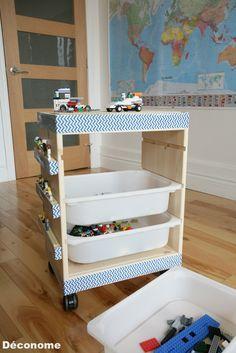 les 25 meilleures id es de la cat gorie tag re lego sur pinterest affichage de lego chambre. Black Bedroom Furniture Sets. Home Design Ideas