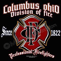 Columbus Fire Department Old Maltese design