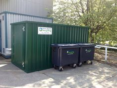Electrical waste storage containers