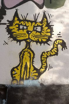 Cat StreetArt