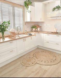 Kitchen Room Design, Modern Kitchen Design, Home Decor Kitchen, Interior Design Kitchen, New Kitchen, Home Kitchens, Home Design, Cuisines Design, Home Decor Inspiration