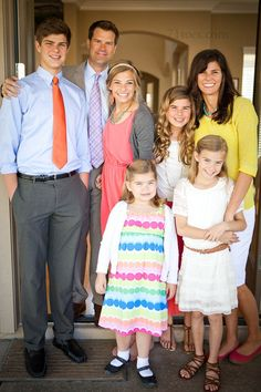 Family leading to Church